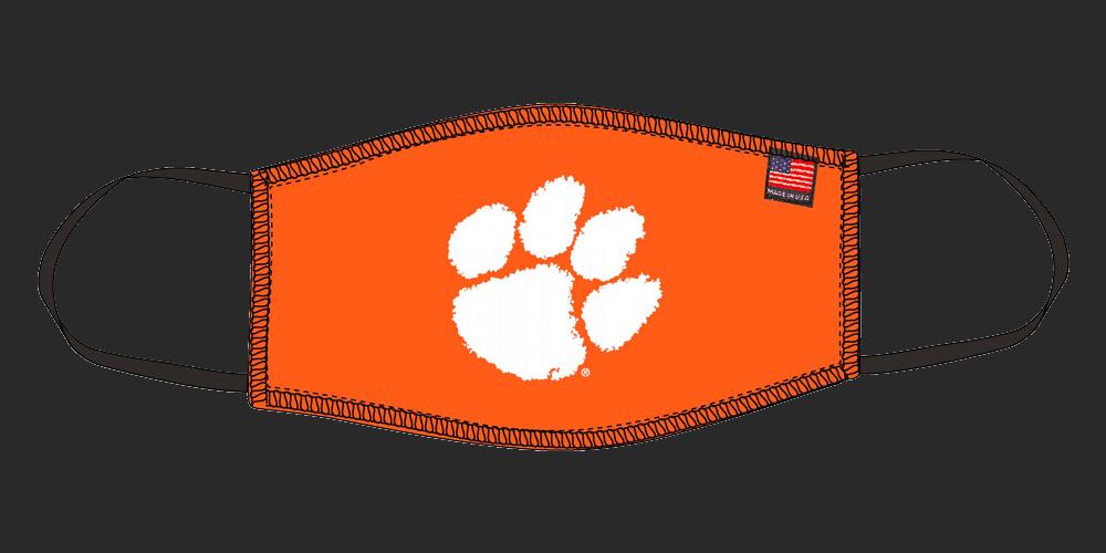 Orange 'Official Licensed' Mask